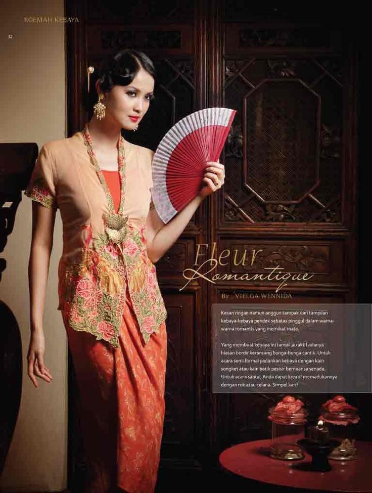 Kebaya in Style.  KEBAYA EKSKLUSIF www.venzakebaya.net https://www.facebook.com/venzakebaya?ref=hl