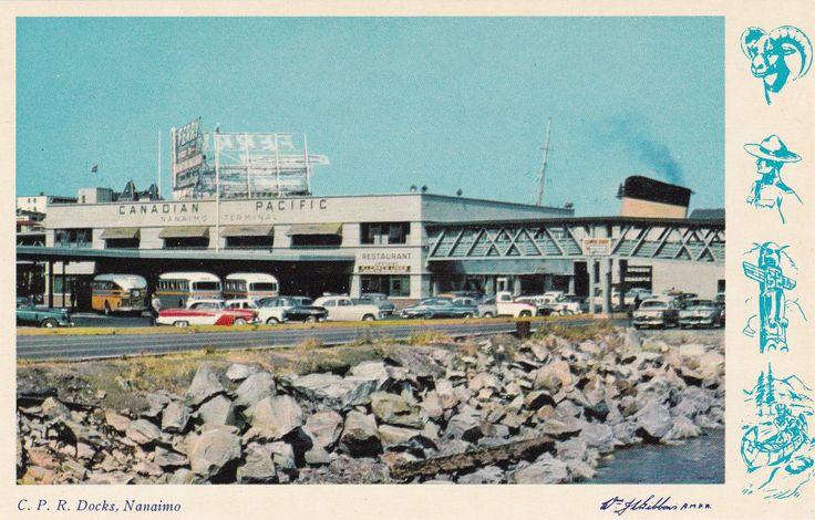 Nanimo ferry terminal.