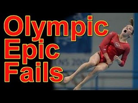 Funny Olympic Bloopers + Bonus Epic Funny Fails - Sports