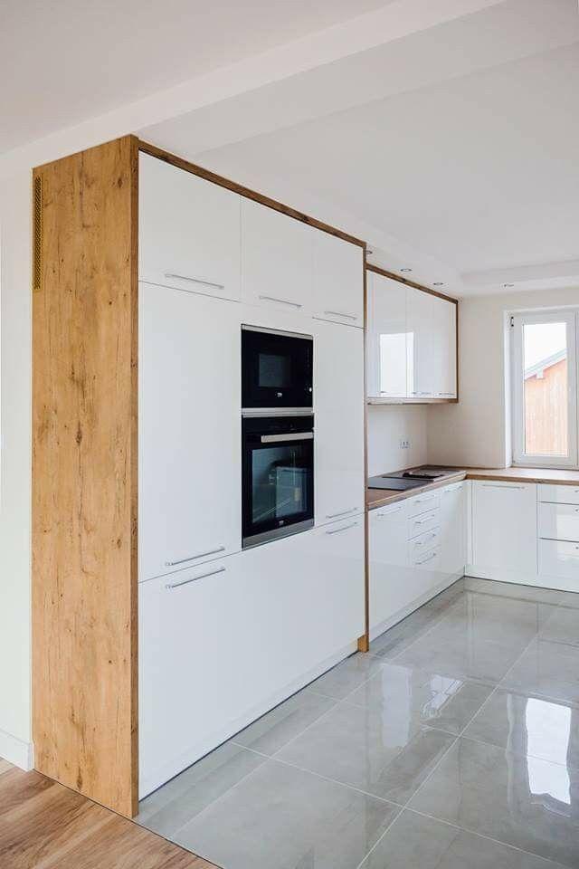 Tour des meubles colonnes avec plan de travail | home idea | Küche ...