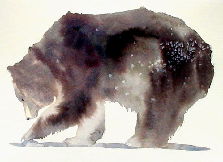 Ilustración Spirit Animal ~ Bear