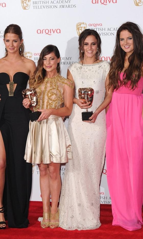 Ladies from Made In Chelsea- BAFTAS 2013