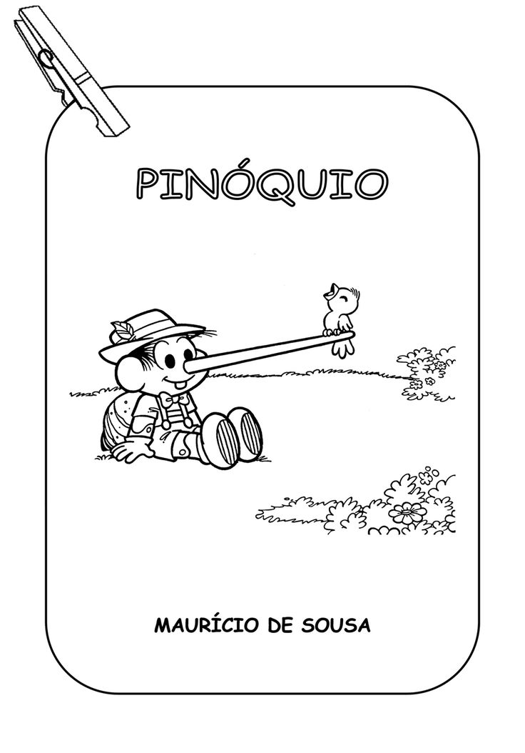 Pinóquio - Varal de História