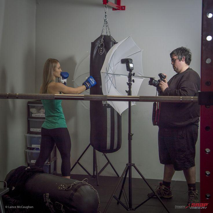 https://flic.kr/p/Ka2XTj | Snap Gym - Emma and Michael behind the scenes