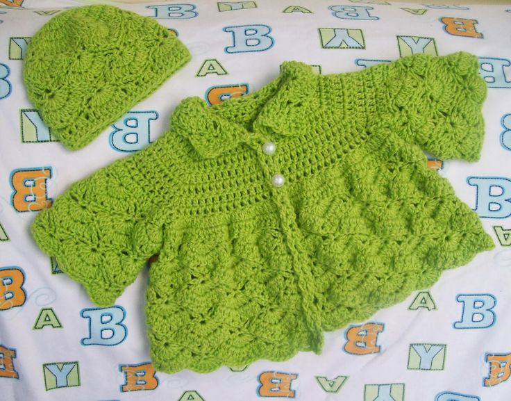 Cats-Rockin-Crochet Fibre Artist.: The Shy Butterfly - Baby Sweater ...