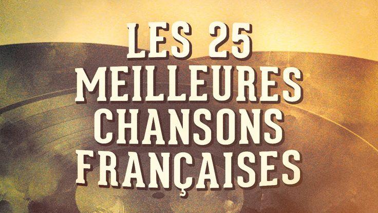 Les 25 meilleures chansons françaises Vol. 1 (Album vidéo longue durée)