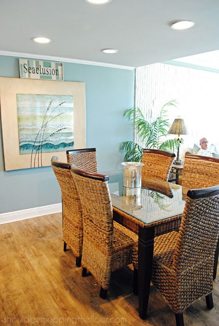 Seaclucion -A Beach Condo Home Tour. Browse homes on Completely Coastal here: http://www.completely-coastal.com/search/label/House%20Tours