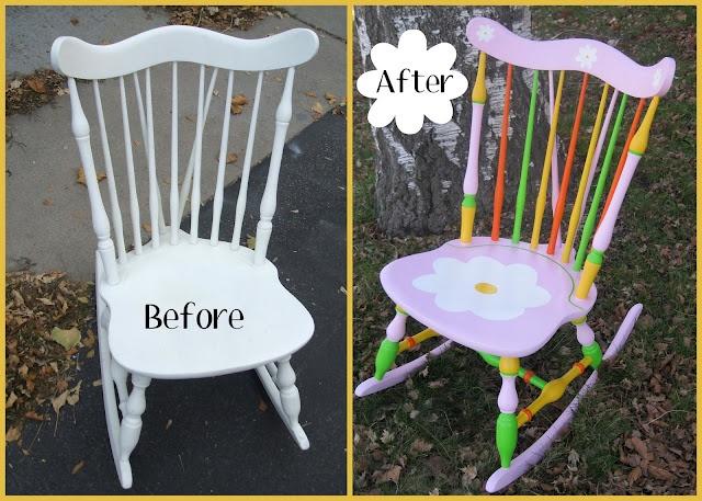 Rocking chair revamp
