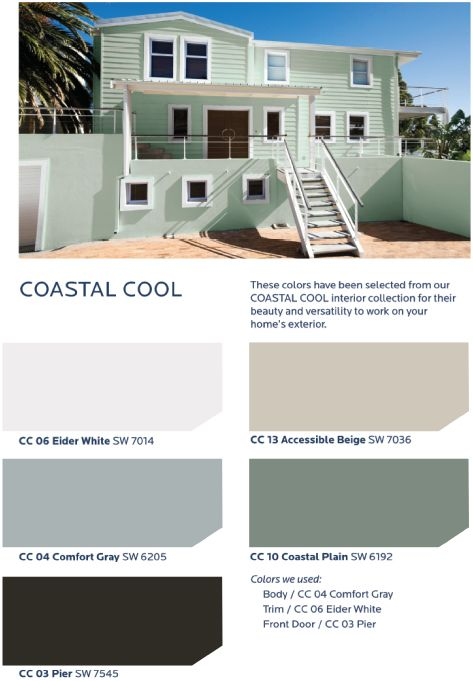 109 best images about hgtv home by sherwin williams - Sherwin williams exterior colors 2014 ...