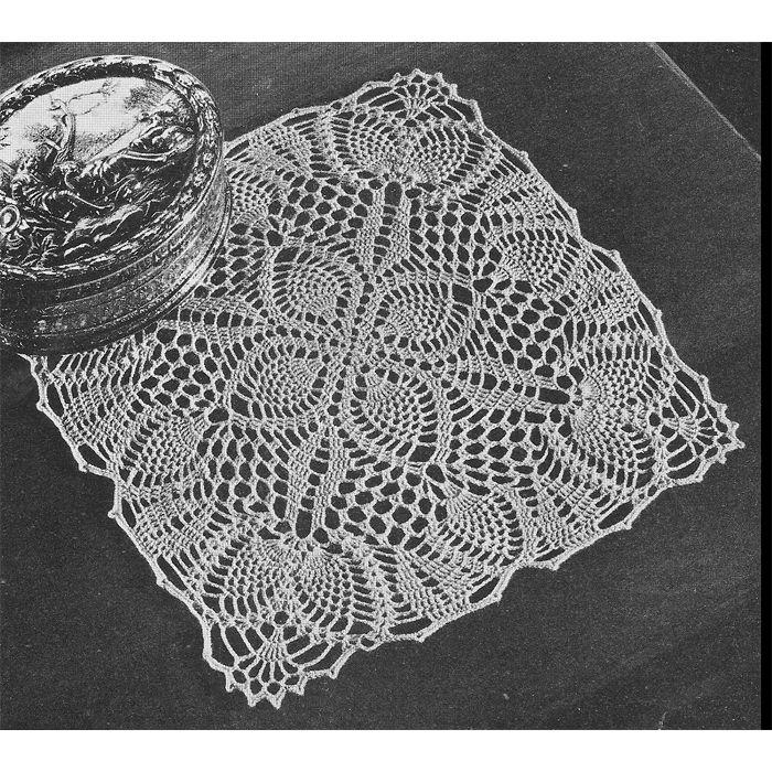 201 best Crochet a Pineapple Motif images on Pinterest | Vintage ...