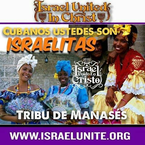 So-called Cubans are israelites according to the Bible! They are form the tribe of Manasseh! Learn who you are according to the Bible at www.israelunite.org  #cubans #mexicans #latin #cuba #hurricane #matthew #bible #christ #history #biblehistory #truth #israel #slavery #blacklivsmatters