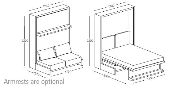 The development of this new product was inspired by the growth of the Murphy Wall-bed business in the USA and the industry's need for a better designed bed system. Description from s3.amazonaws.com. I searched for this on bing.com/images