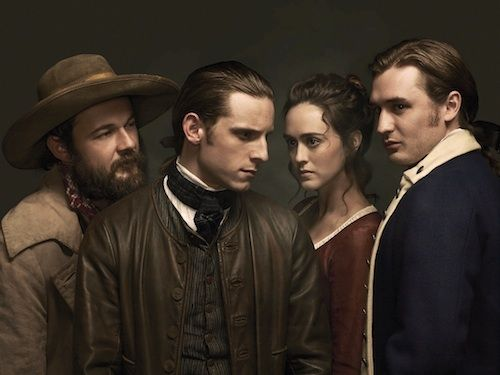 CAST OF AMC'S TURN   TURN: AMC's captivating new drama reveals America's first spy ring