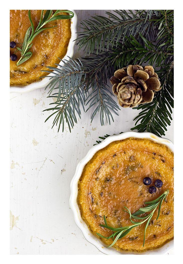 Pine & juniper crème brûlée