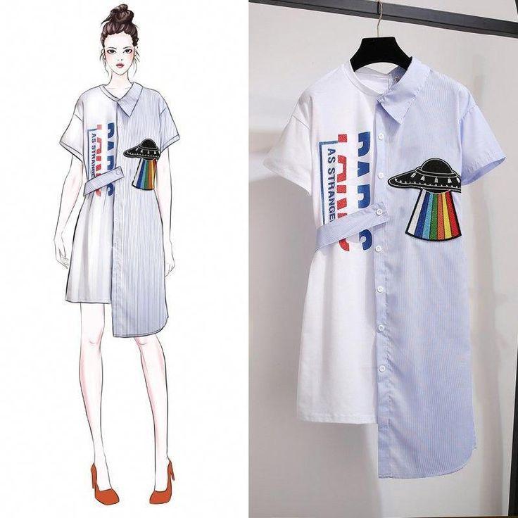 Sketsa Desain Baju