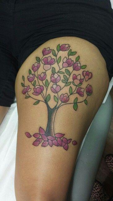 magnolia flower tattoo men - photo #44