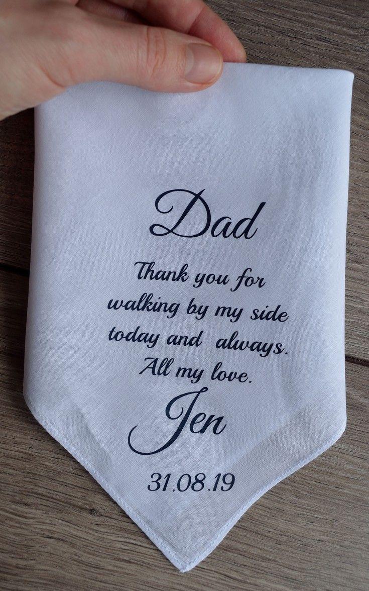 Wedding Gift Custom Handwritten Men/'s Handkerchief