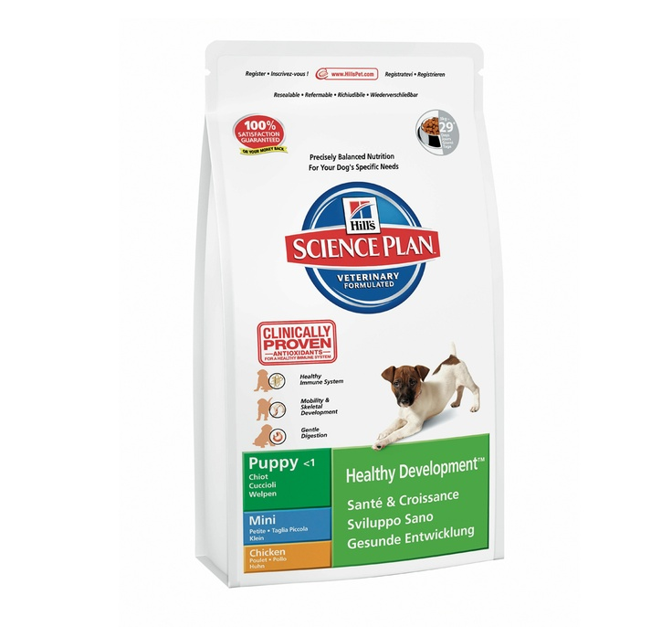 Hills Science Plan Puppy Mini Breed Chicken - 3 KG Buy Online Dog Food http://www.dogspot.in/treats-food/
