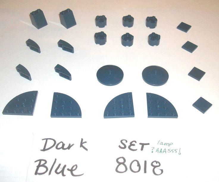 $15 #ebay #starwars #theclonewars Set 8018 Dark Blue 3678 30565 50950 3960 Tile 3941 4 LEGO 7094 8635 10188 10196 #LEGO