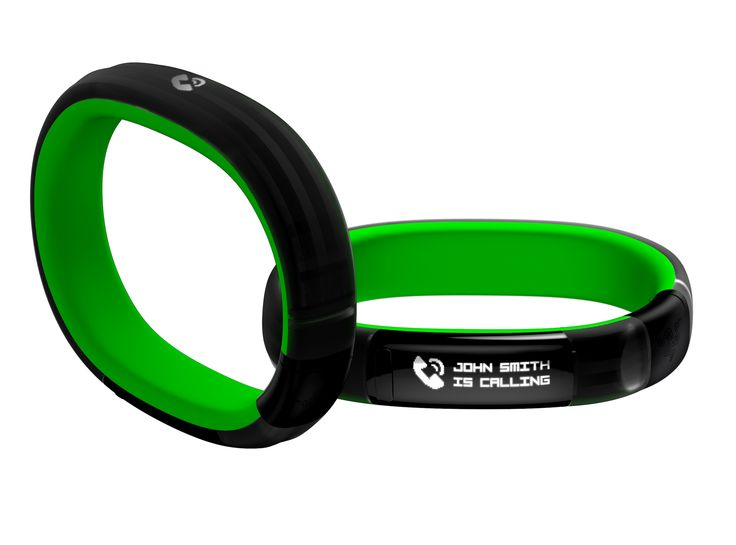 Though it tracks your steps and sleep, Razer's Nabu band is more than just a body monitor. It also functions like a smartwatch by pairing to your phone and serving notifications from connected services.