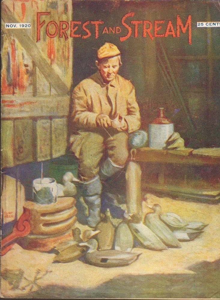 Nov 1920 forest and stream hunting fishing magazine great for Hunting and fishing magazine