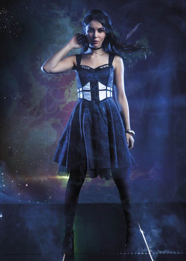Hot Topic's New 'Doctor Who' Fashion Collection Is Here!