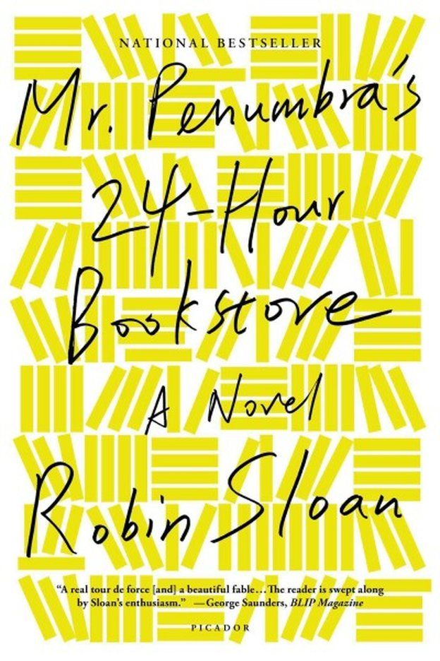 Mr. Penumbra's 24-Hour Bookstore #read2015