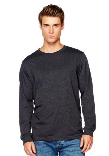 Bella + Canvas men's jersey long sleeve tee {made in the usa}