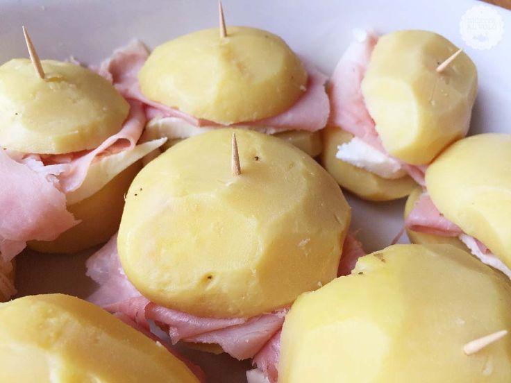 Patate ripiene al forno con besciamella