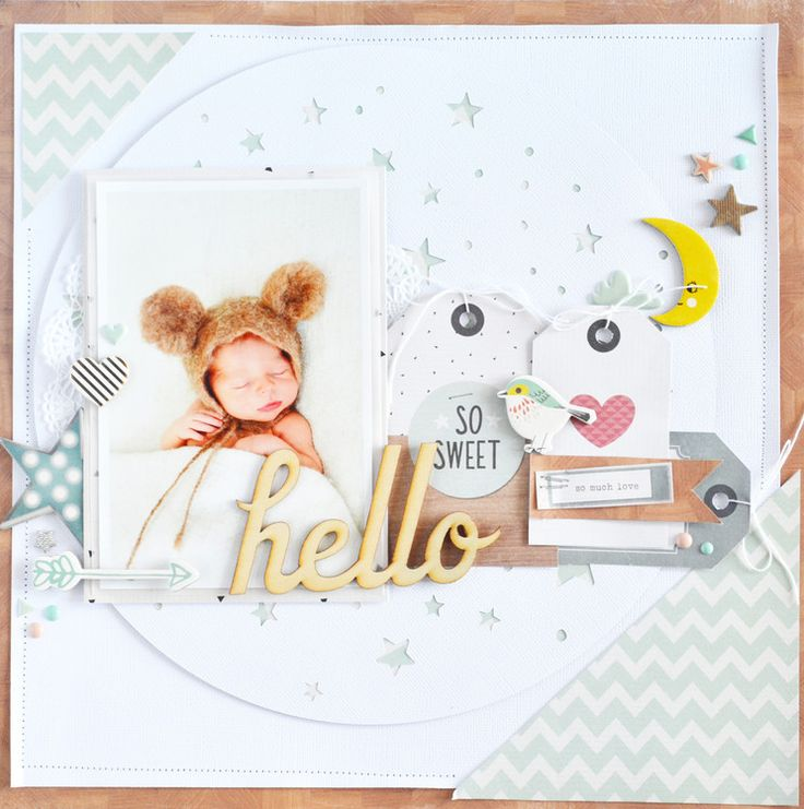 #papercrafting #scrapbook #layout - So Sweet by raquel at @studio_calico