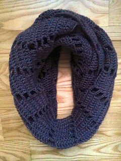 Zigzag Scarf, by Ravelry  e1.80 for pattern