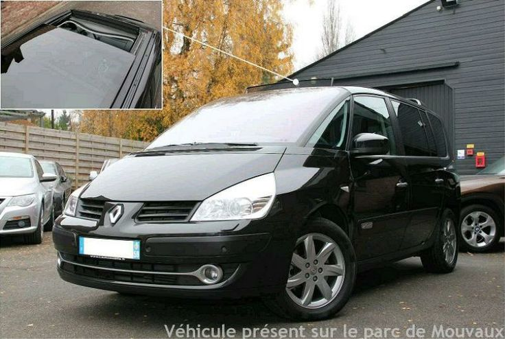 11 best renault espace iv images on pinterest cars the great outdoors and minivan. Black Bedroom Furniture Sets. Home Design Ideas