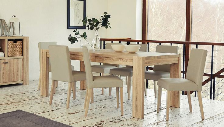 Corsica extending dinning table from next home decor for Dining room tables next