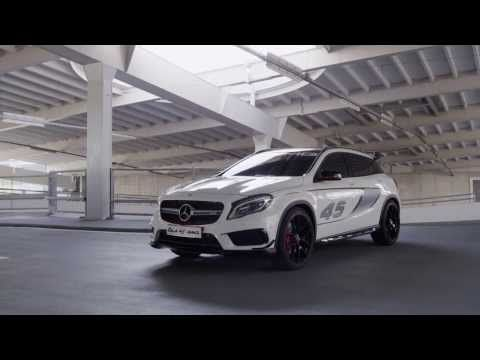 Mercedes-Benz Concept GLA 45 AMG: Lo mejor de dos mundos