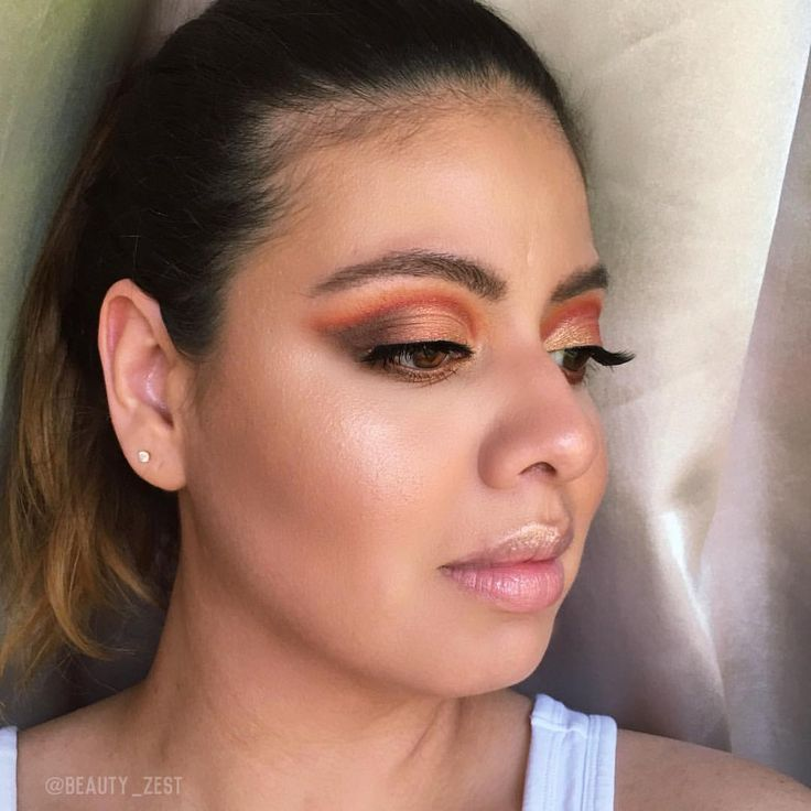 """375 Likes, 14 Comments - Jasmine #beautyzest (@beauty_zest) on Instagram: """"I was blown away by the @natashadenona Sunset Palette! I think it will become one of my favorite…"""""""