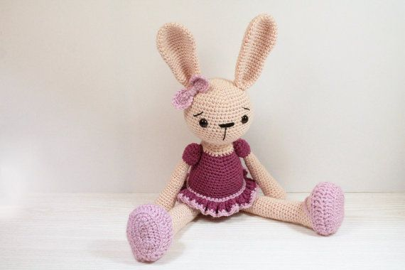 Amigurumi Bunny Girl : 1000+ images about Crochet Amigurumi on Pinterest ...