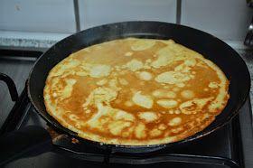 Een fijn alternatief voor de pannenkoekjes van kikkererwtenmeel die ik vaak bakte. Op veel sites vind je recepten voor wraps gemaakt van kok...