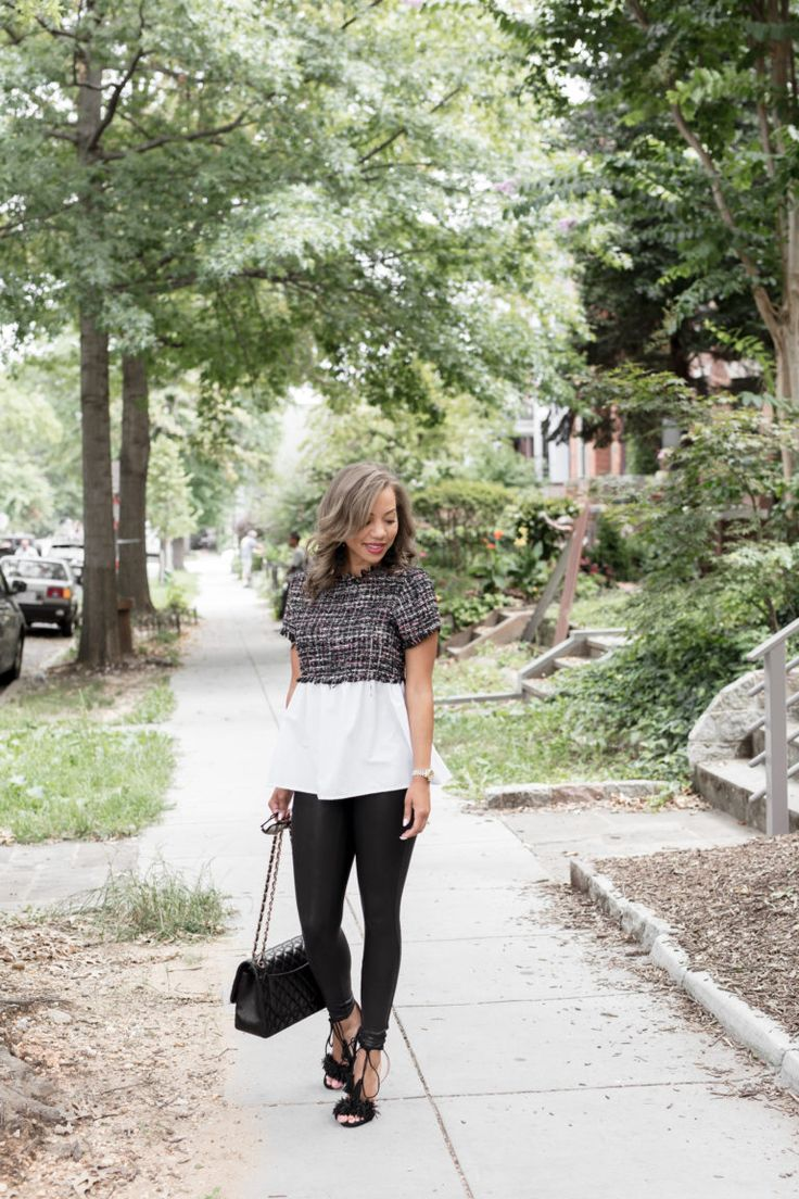 THE Best Faux Leather Leggings! #spanx