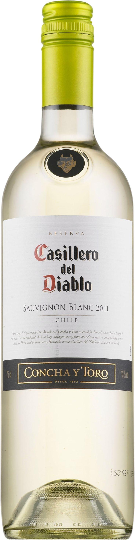 Casillero del Diablo Sauvignon Blanc 2016. Chile: Sauvignon Blanc. 9,99 €. Vivahteikas ja ryhdikäs: Kuiva, hapokas, sitruksinen, kevyen karviaismainen, yrttinen, hennon herukanlehtinen