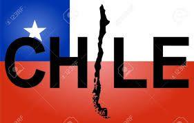 Resultado de imagen para mapa, escudo nacional y bandera de Chile