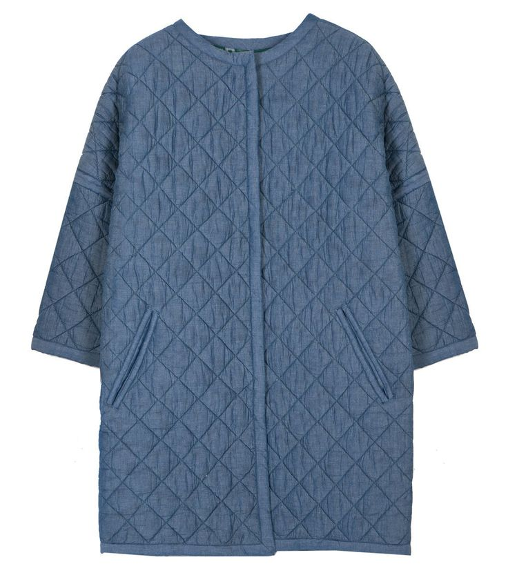 Reversible coat for the versatile and creative Smart Casual busichic! Niagra Ikat Coat Reversible by Gorman