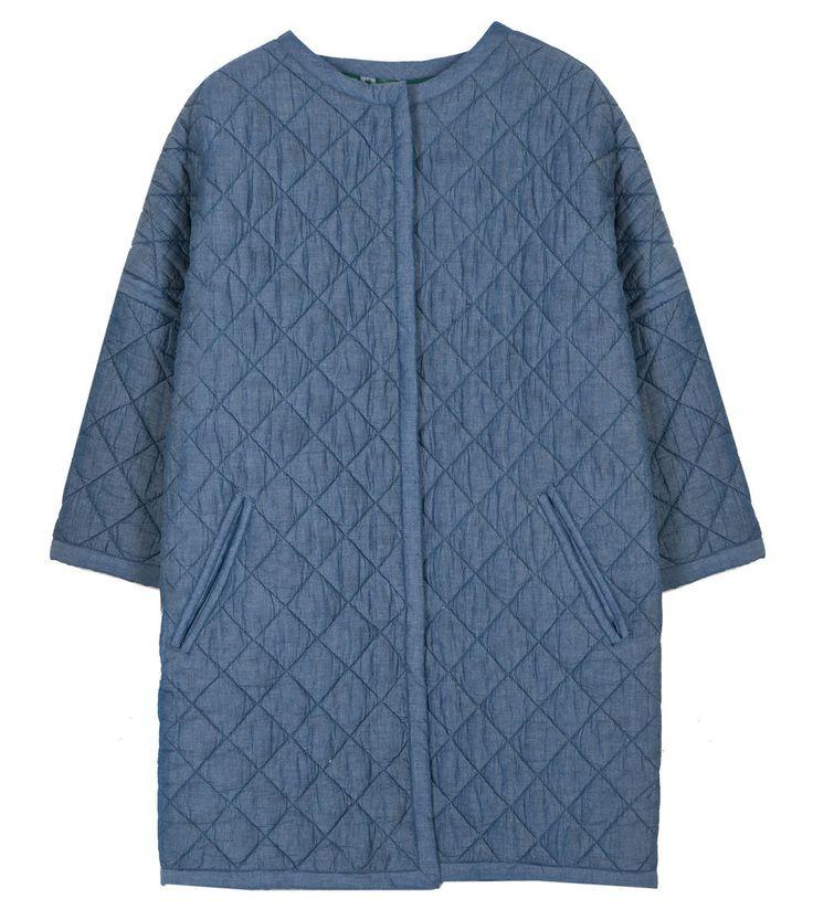 Reversible coat for the versatile and creative Smart Casual busichic! Niagra Ikat Coat Reversible by Gorman
