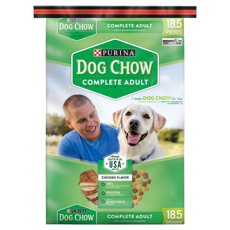 Purina Dog Chow Complete Adult Dry Dog Food - 18.5lbs