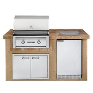 Sedona by Lynx 2-Burner Built-In Stainless Steel Propane Gas Grill in Sandalwood L1500S at The Home Depot - Mobile