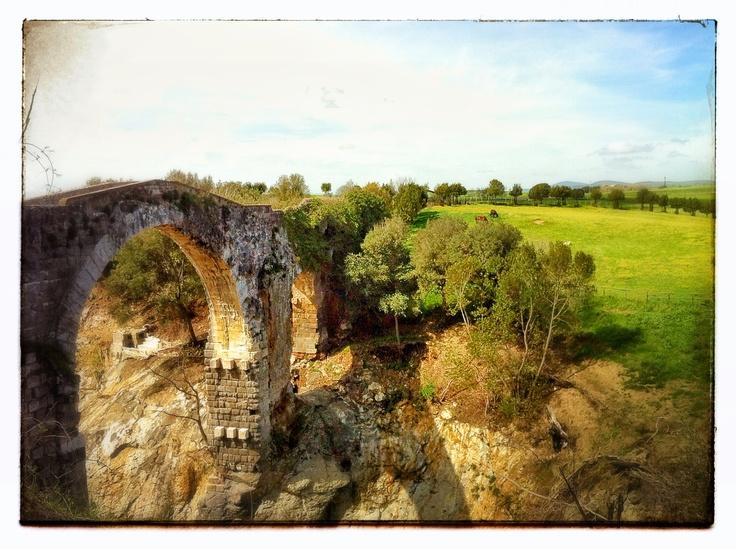 Il ponte di Vulci (Vt)