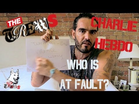 Charlie Hebdo: Whose Fault Is it? Russell Brand The Trews (E231). I react to the attacks on Charlie Hebdo in Paris last week and try to understand how we sho...