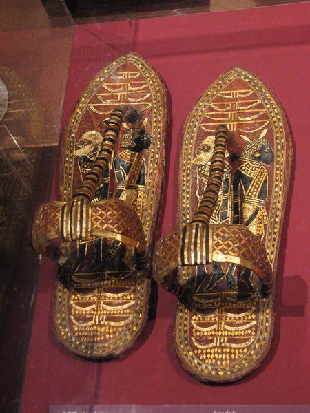 Sandals--Tutankhamon.