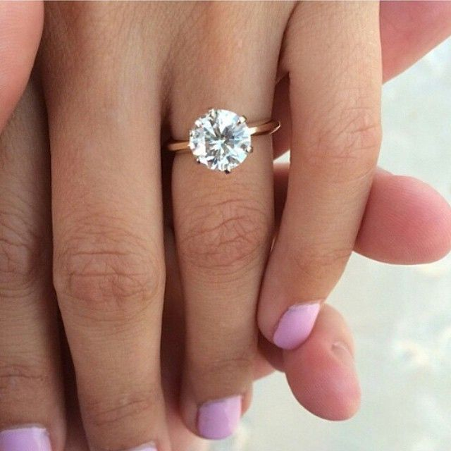 Best 25 1 Carat Ideas On Pinterest: 1000+ Ideas About Solitaire Rings On Pinterest
