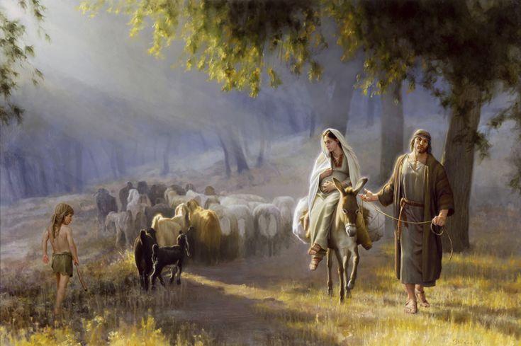 Journey to Bethlehem by Joseph Brickey