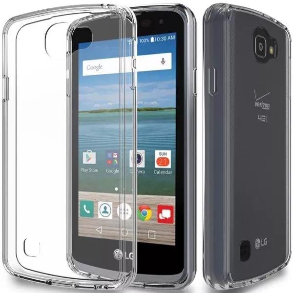 capinha de celular LG K4 Silicone Gel Premium transparente do site eagletechz.com.br